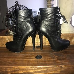 Bakers Black Ankle Boots